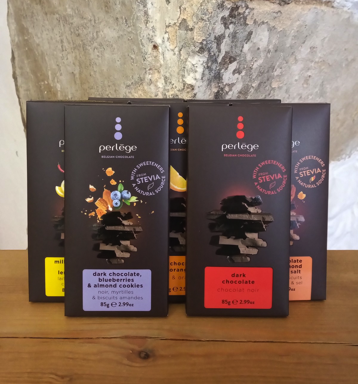 Perlège Chocolate Bars