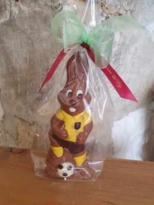 Football Bunny in Yellow Kit