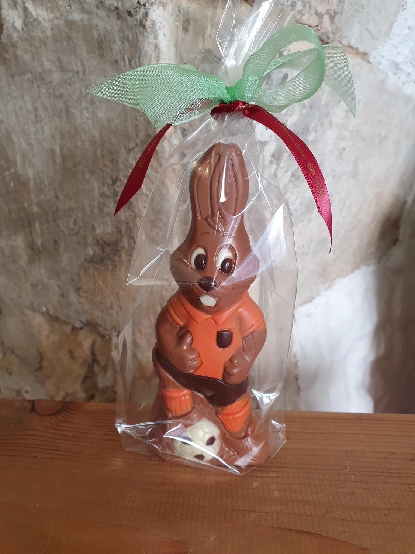 Football Bunny in Orange Kit