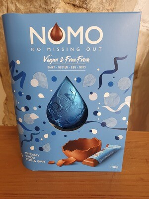 NoMo Vegan Egg and Bar in Creamy Chocolate