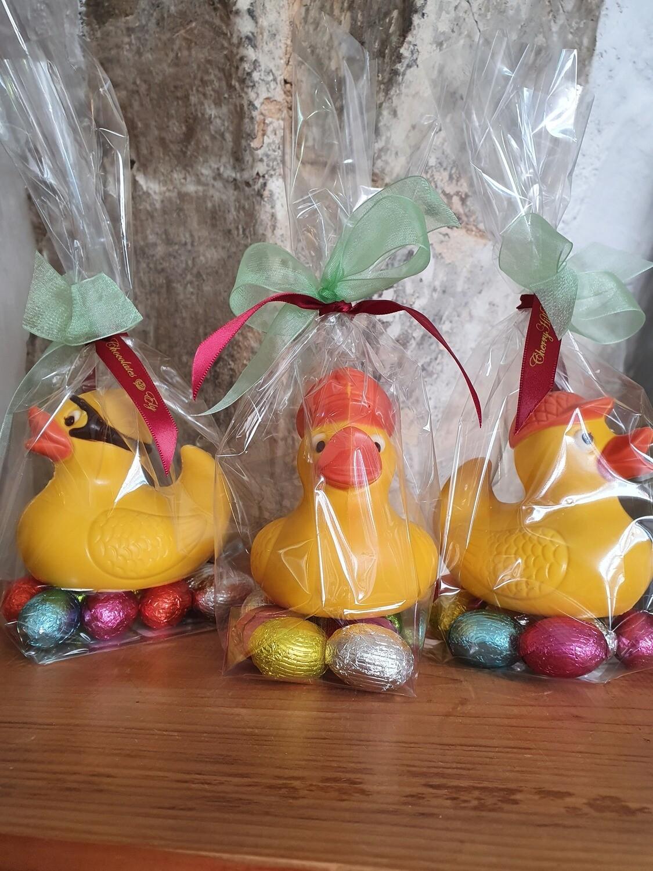 Yellow Duckies on Mini Eggs