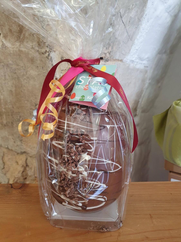 STAS Milk Chocolate Cocoa Nib Egg