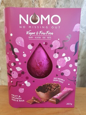 NoMo Vegan Egg and Bar in Fruit and Crunch