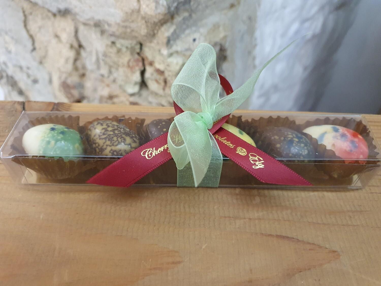 Chocolate Constellation Eggs