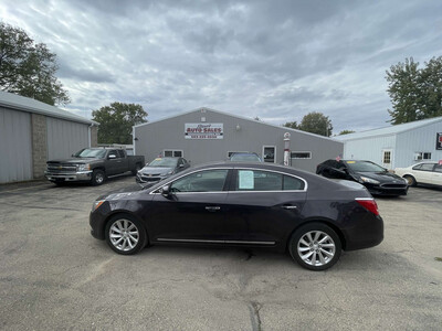 2014 Buick LaCrosse leather edition