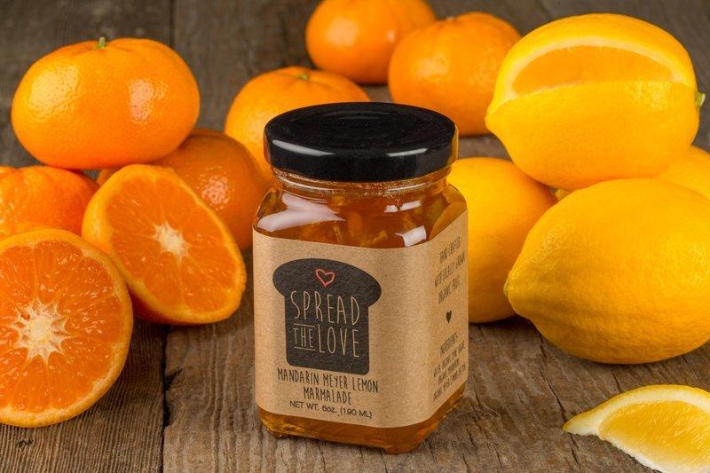 Mandarin Meyer Lemon Marmalade
