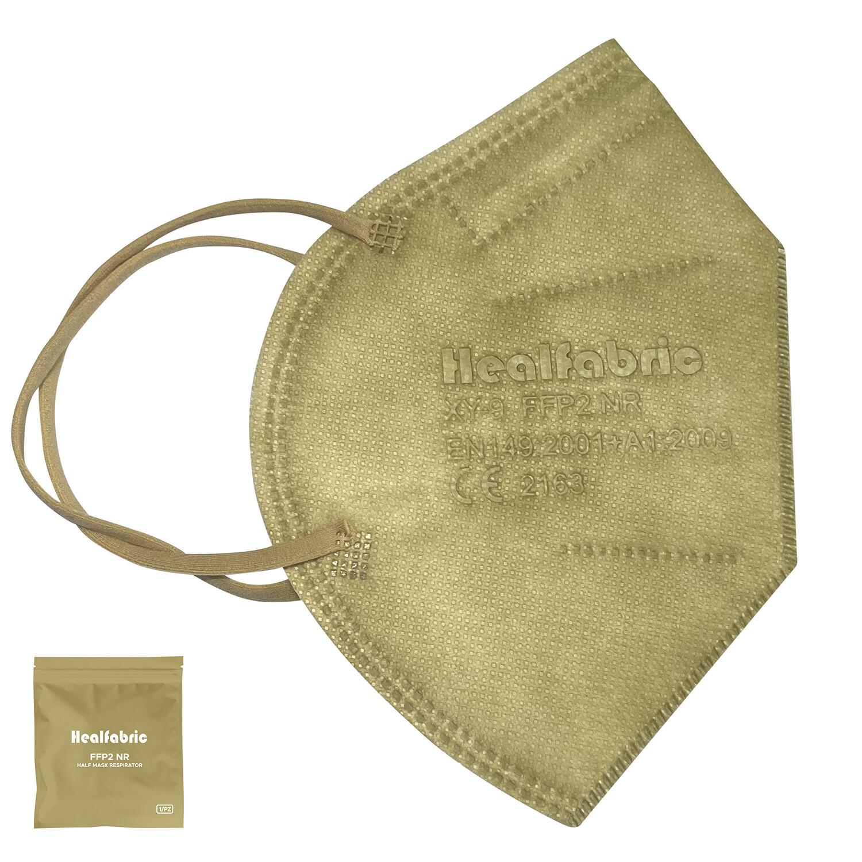 10er Pack FFP2 Schutzmaske TAUPE