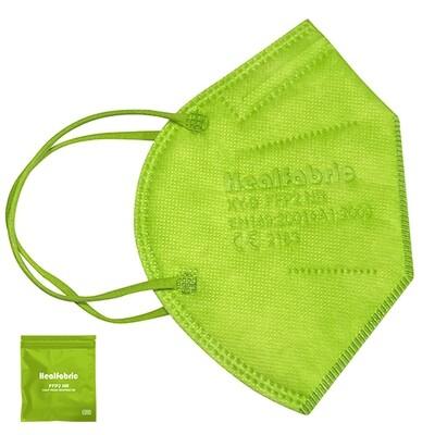 10er Pack FFP2 Schutzmaske HELLGRÜN