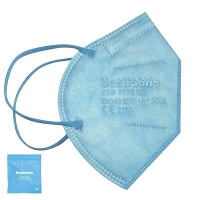 10er Pack FFP2 Schutzmaske HELLBLAU