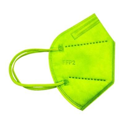 25er Pack FFP2 Schutzmaske hellgrün