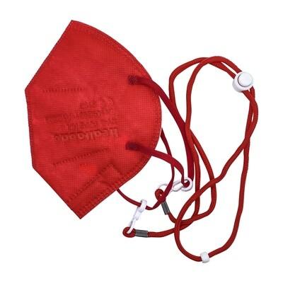 Maskenhalterband zum umhängen - rot