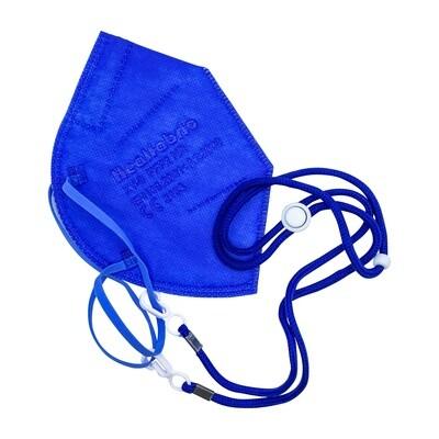 Maskenhalterband zum umhängen - royalblau