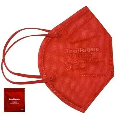 10er Pack Schutzmaske ROT