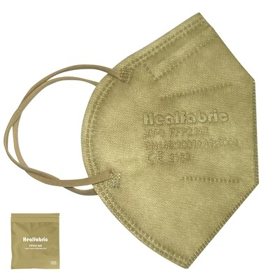 10er Pack Schutzmaske TAUPE