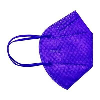 10er Pack Kinder  Schutzmaske violett