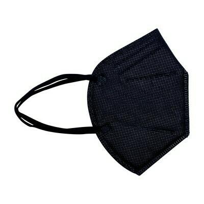 10er Pack Kinder  Schutzmaske schwarz