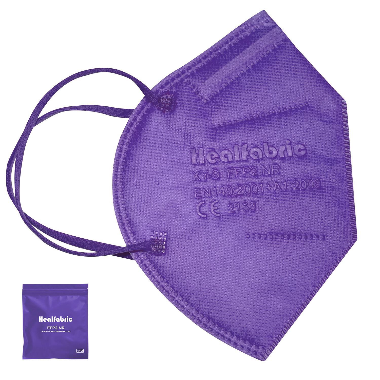 10er Pack Schutzmaske VIOLETT