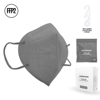 10er Pack Schutzmaske GRAU