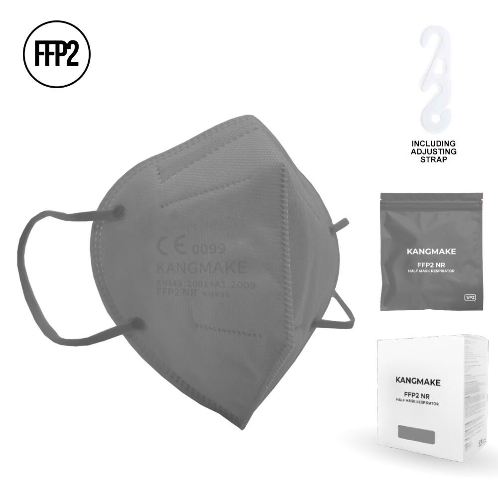 10er Pack FFP2 Schutzmaske GRAU