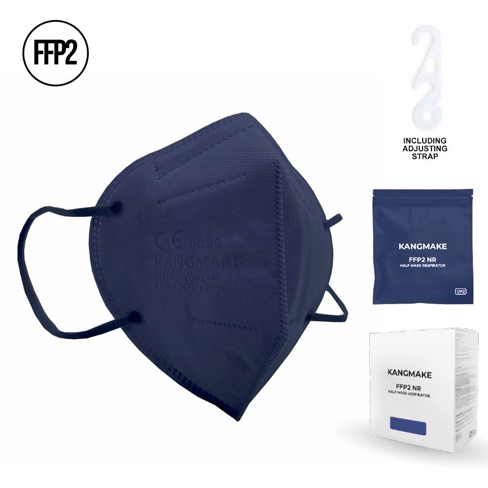 10er Pack FFP2 Schutzmaske DUNKELBLAU