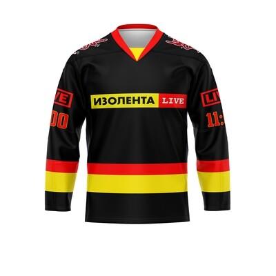 Хоккей черный