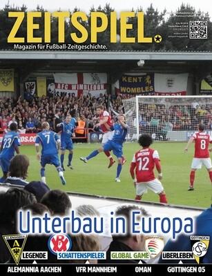 Heft #16: Unterbau in Europa