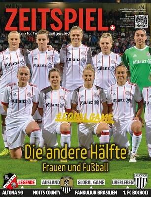 Heft #14: Die andere Hälfte – Frauen und Fußball