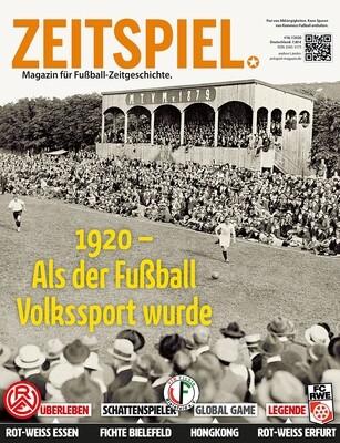 Heft #18: 1920 – Als der Fußball Volkssport wurde