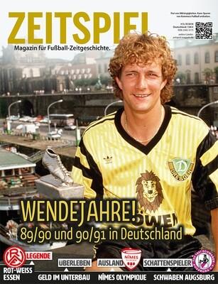Heft #13: Wendejahre! – 89/90 und 90/91 in Deutschland