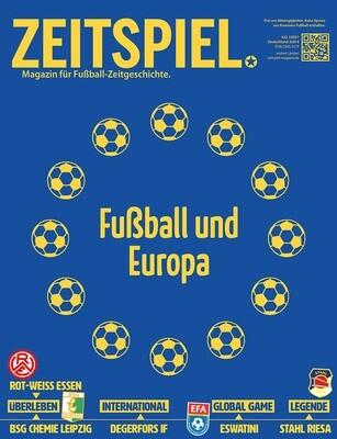 Heft #22: Fußball und Europa