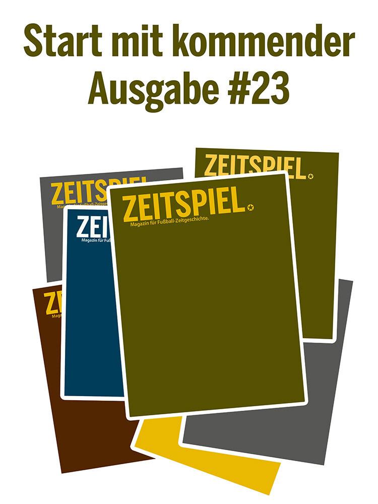 Dauerabo (ab Juni-Ausgabe #23, Preis pro Jahr)