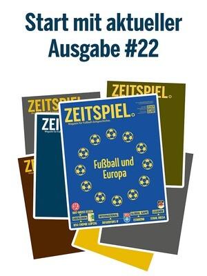 Dauerabo (ab aktueller Ausgabe #22, Preis pro Jahr)