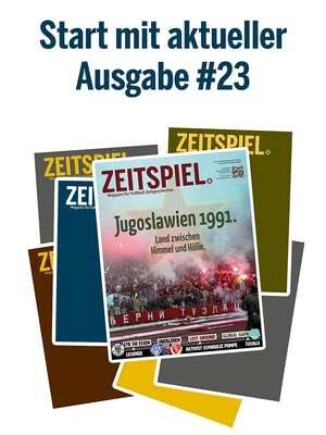 Dauerabo (ab aktueller Ausgabe #23, Preis pro Jahr)