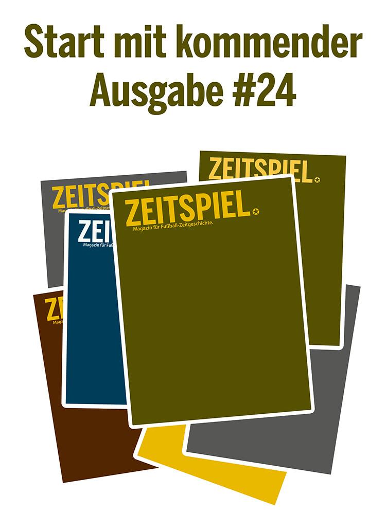 Dauerabo (ab September-Ausgabe #24, Preis pro Jahr)
