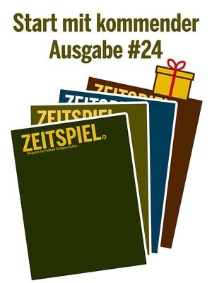 Geschenkabo (Ausgaben #24-27)