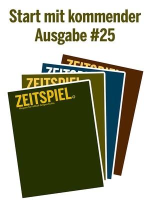 Jahresabo (Ausgaben #25-28)