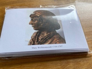 Pack of 5 Mary cards