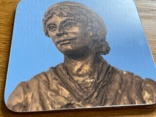 Mary Wollstonecraft 1 Coaster