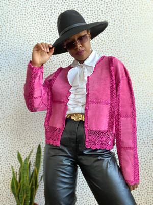 COWGRL Leather Jacket