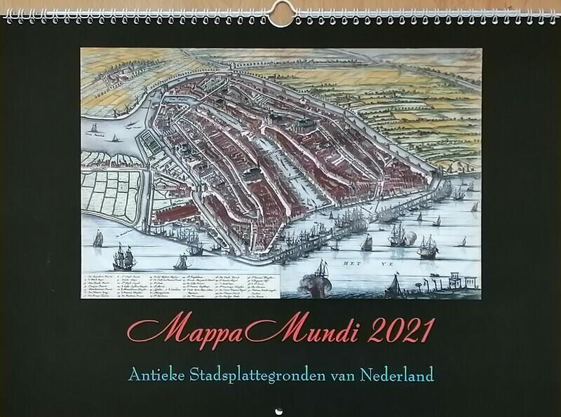 MappaMundi Wandkalender 2021