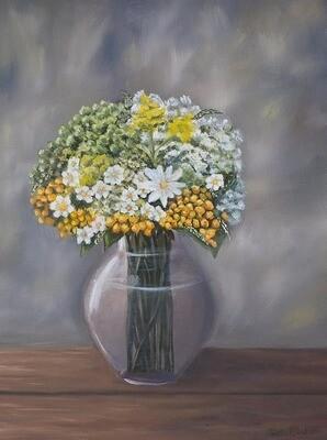 Floral Original Oil Painting