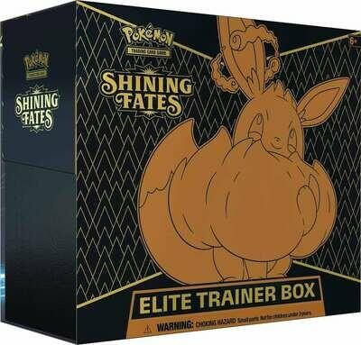 Pokemon Shining Fates Trainer Boxes