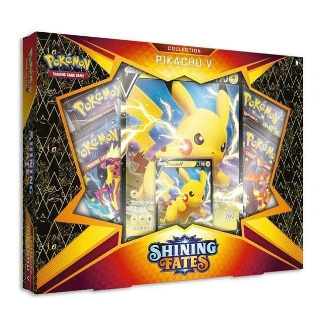 Pokemon Shining Fates Pikachu V Box