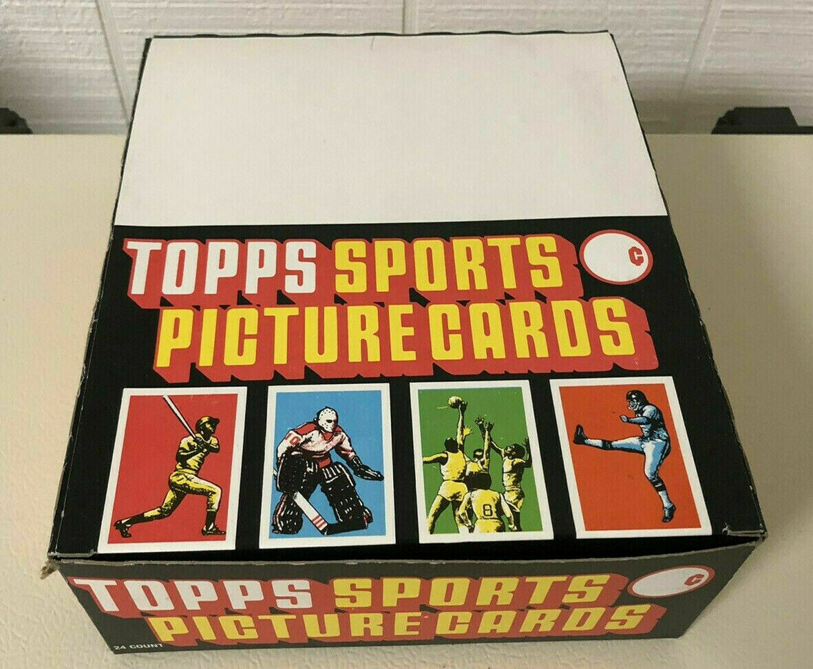 1988 Topps Rack Pack Box