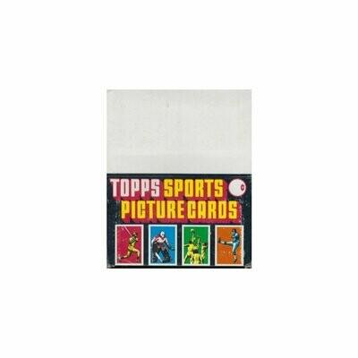 1985 Topps Rack Pack Box