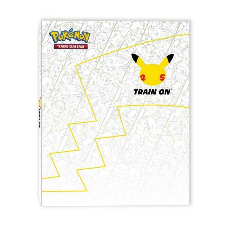Pokemon 25th Anniversary Trading Card Binder