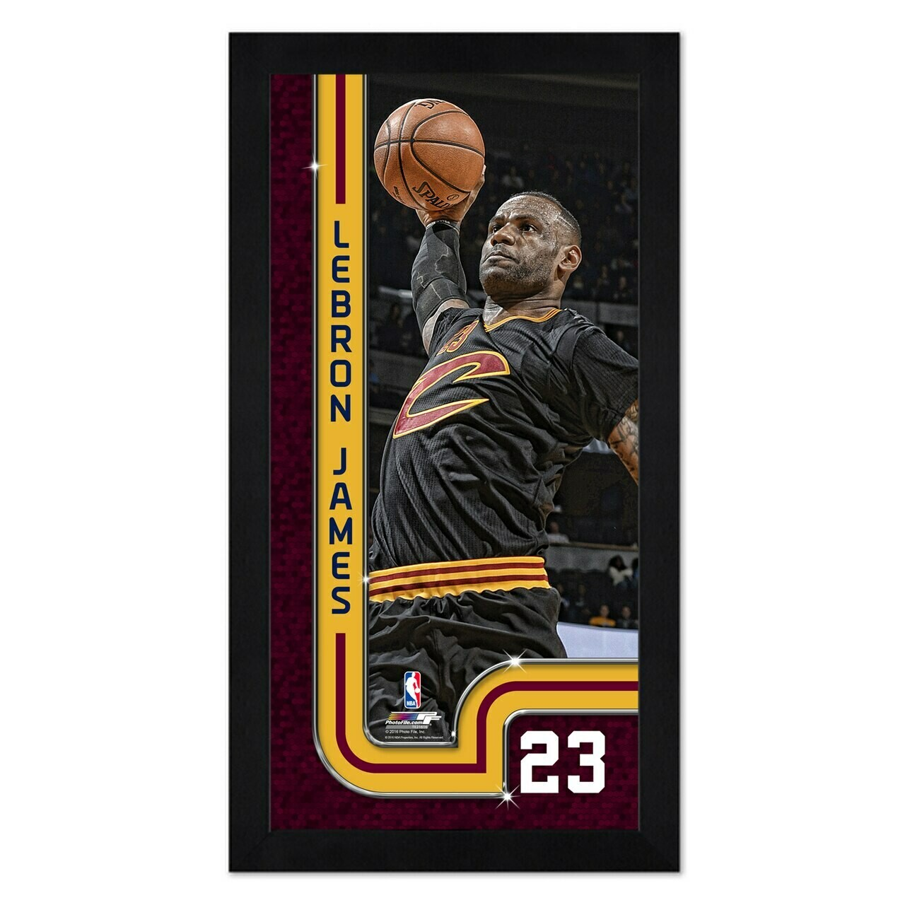 Cleveland Cavaliers 7x13 Lebron James Framed Picture