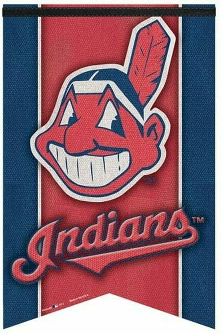 Cleveland Indians Pennant Banner