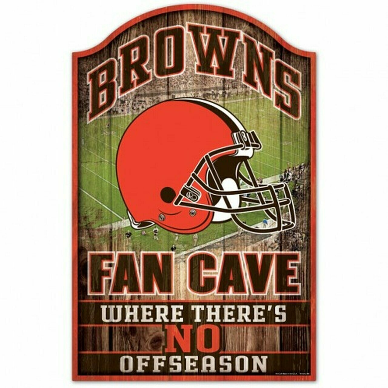 Cleveland Browns Fan Cave Sign