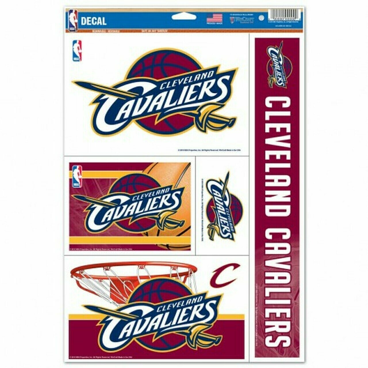 Cleveland Cavaliers Decal